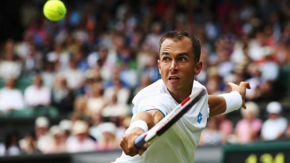 Rosol Takes First Set