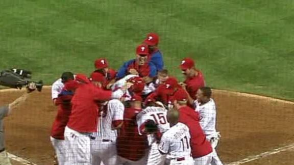 Utley 2-run HR lifts Phils over Marlins in 14th