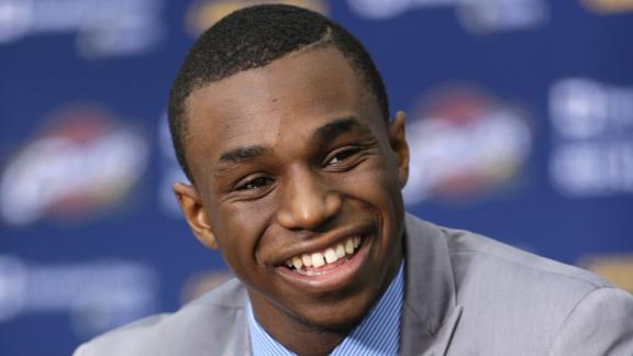 Cavaliers pinning hopes on top pick Wiggins