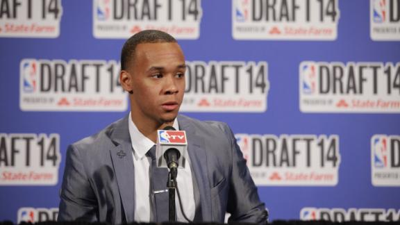 2014 NBA draft -- Miami Heat trade for guard Shabazz Napier