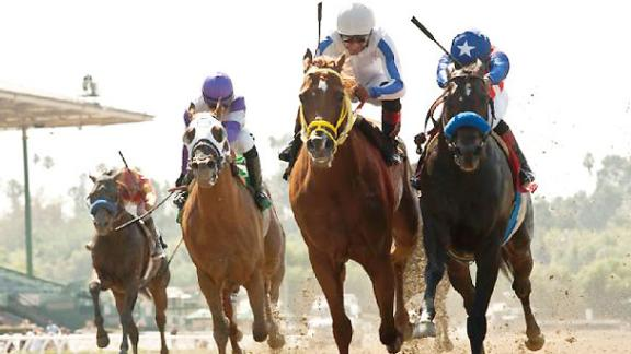 Route vers la (31e) Breeders' Cup 2014 Com_140628_Triple_Bend_Stakes