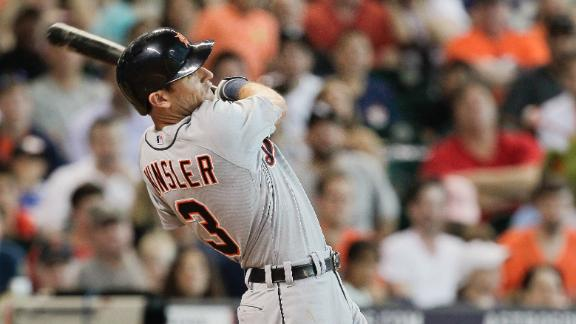 Video - Kinsler's Blast Powers Tigers