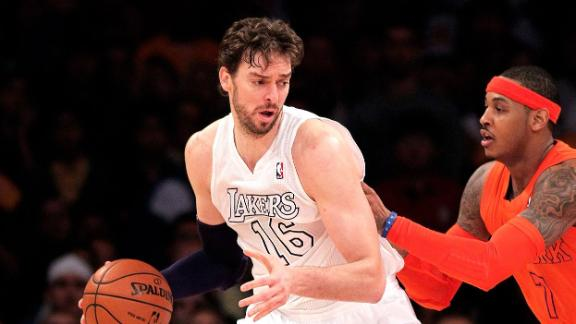 Lakers contact FAs Anthony, James, Gasol