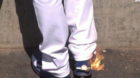Video - The Shoe Is On Fire!