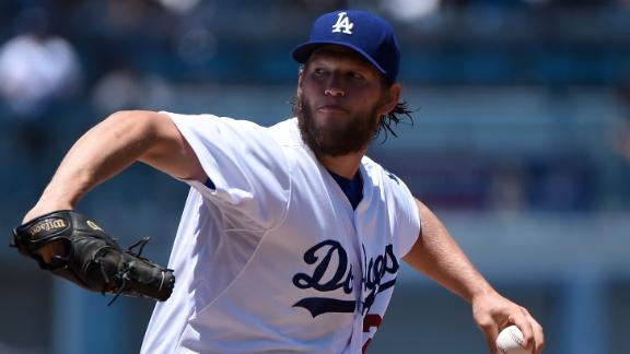 Kershaw (13 K's) lifts LA to West tie