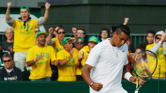 Kyrgios On Upset Over Nadal