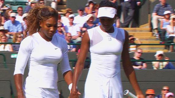 Serena Williams Disoriented