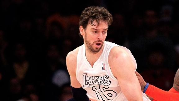 Bulls, Thunder Pursuing Pau Gasol