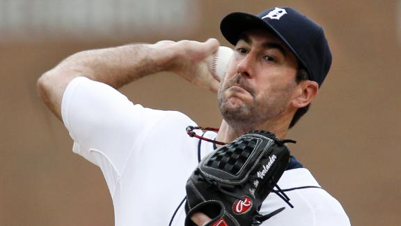 Verlander back on track as Tigers sweep A's
