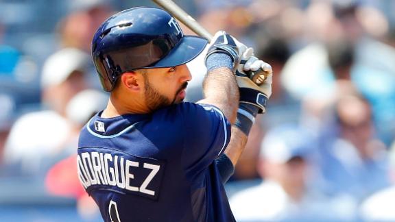 Rays sweep Yankees behind Rodriguez's HR