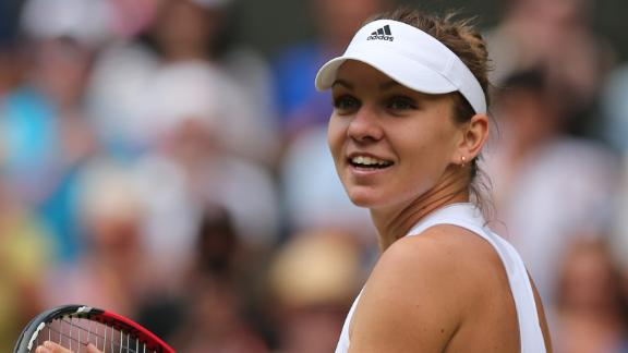 Halep Routs Lisicki In Quarters