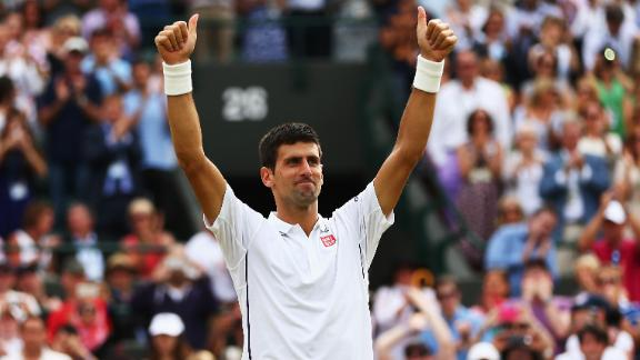 Djokovic Rallies, Wins In Five Sets