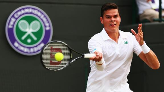 Raonic Reaches Wimbledon Semis