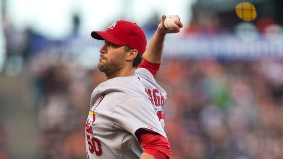 Wainwright, Cards stymie Giants, stop skid