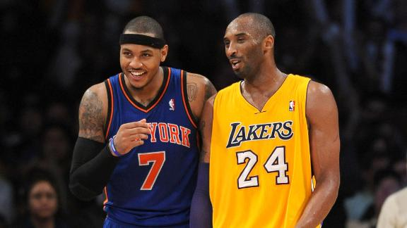 Kobe Part Of Pitch For Carmelo
