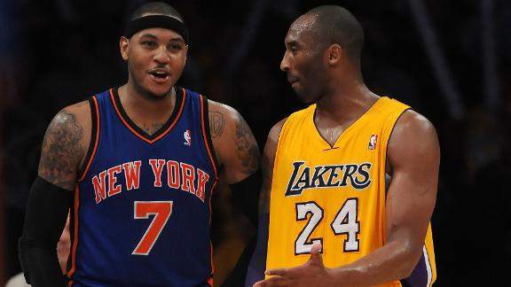 Kobe Will Not Meet With Melo