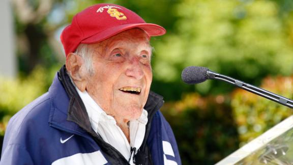 War Hero, Olympian Zamperini Dies At 97