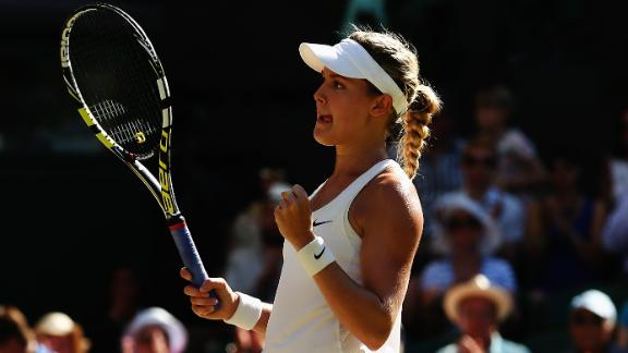 Bouchard Advances To First Grand Slam Final