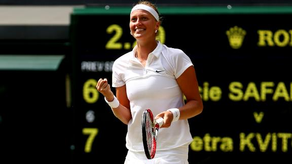 Kvitova Reaches Wimbledon Final