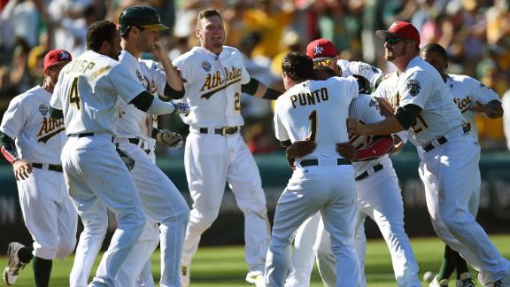 Video - A's Walk Off In The 12th