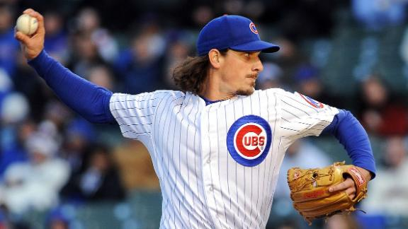 AP Sources: A's Get Samardzija, Hammel From Cubs