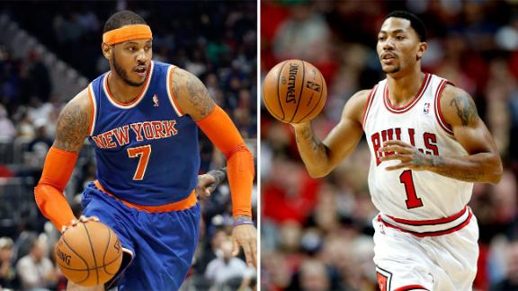 Rose Didn't Help Bulls Pitch To Carmelo