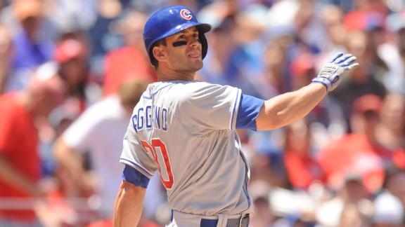 Video - Ruggiano, Hammel Lead Cubs Past Nats