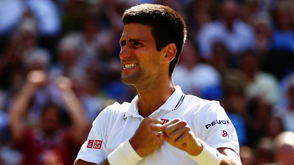 Djokovic Survives To Reach Wimbledon Final