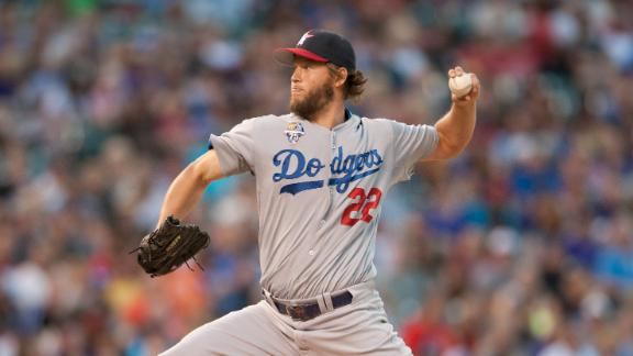Kershaw Extends Scoreless Streak