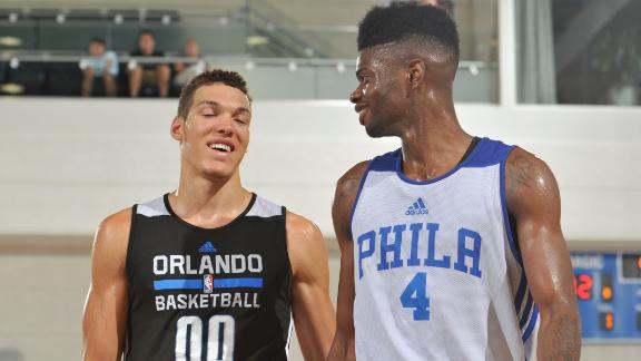Noel, Gordon Make Summer League Debuts