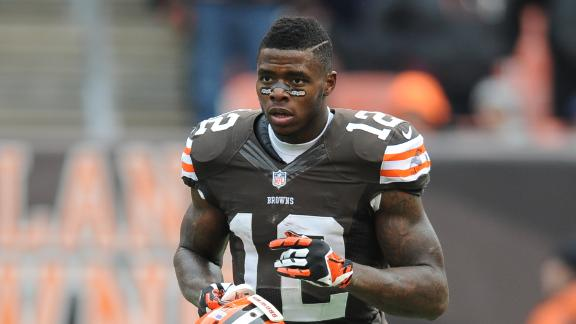 Browns' WR Gordon arrested on DWI charge