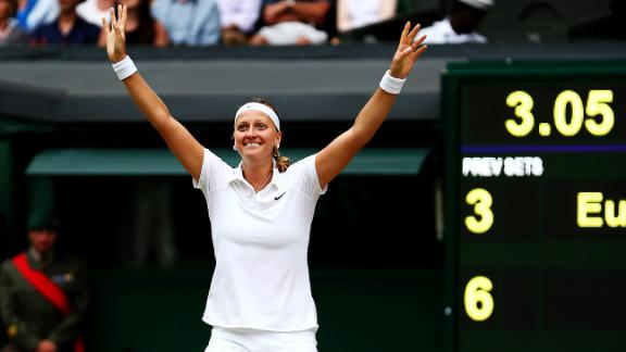 Kvitova Wins Second Wimbledon Title