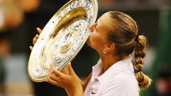 Kvitova's Championship Speech