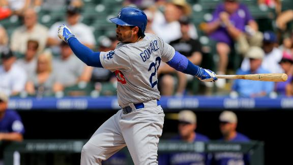 Kemp, Gonzalez lead Dodgers in rout
