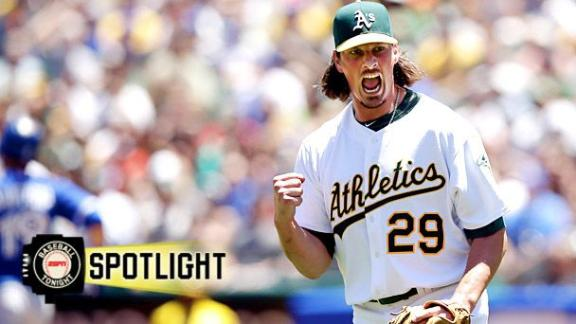 Samardzija Beats Blue Jays In Athletics' Debut