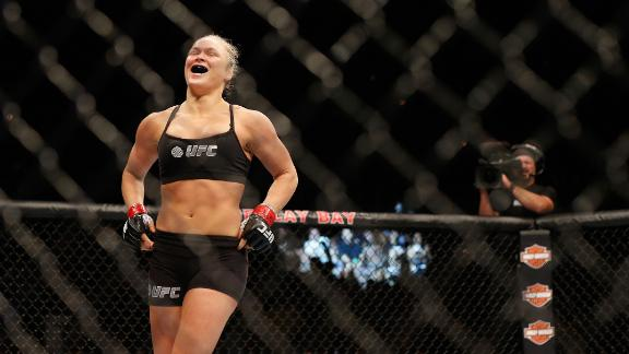 UFC 175: Rousey Dominant Again