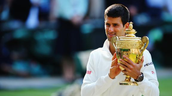 Djokovic Outlasts Federer To Win Wimbledon