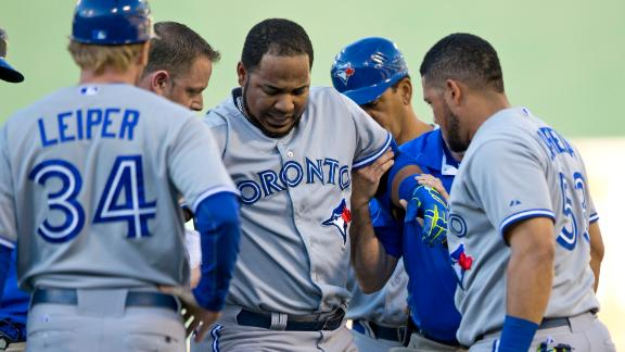 Encarnacion On DL, Will Miss All-Star Game