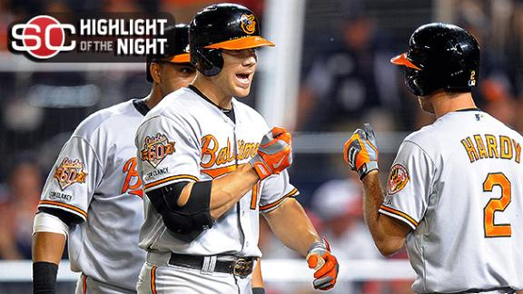 Orioles Surge Past Nats In 11th Inning
