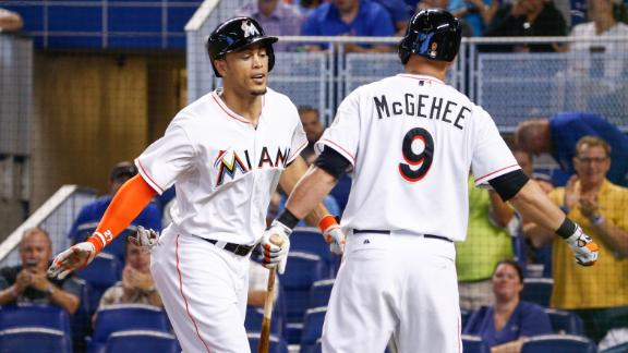 Marlins GM: Stanton, McGehee not on block
