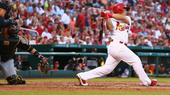 Rookie's shot gives Cards walk-off win again