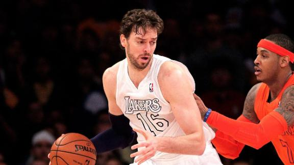 Pau Gasol Meets With OKC Thunder Coach Brooks