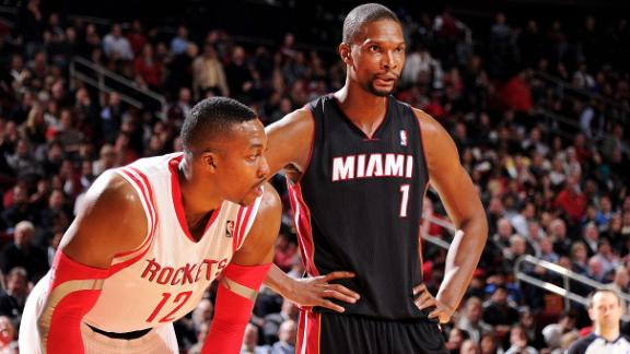 Bosh A Perfect Fit In Houston