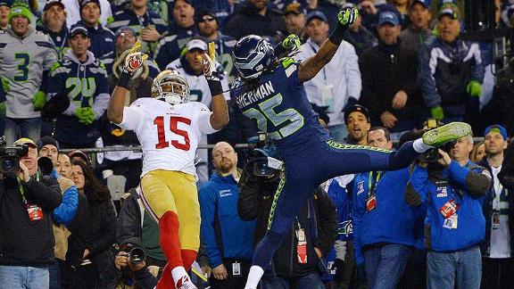 Sherman's Crabtree Issues Not Going Away