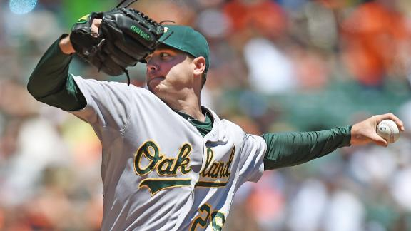 Kazmir Powers A's Past Giants