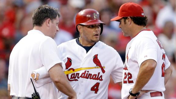 Molina To Miss 8-12 Weeks