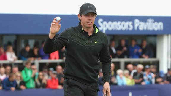 McIlroy Shoots Opening Round 64 At Scottish Open