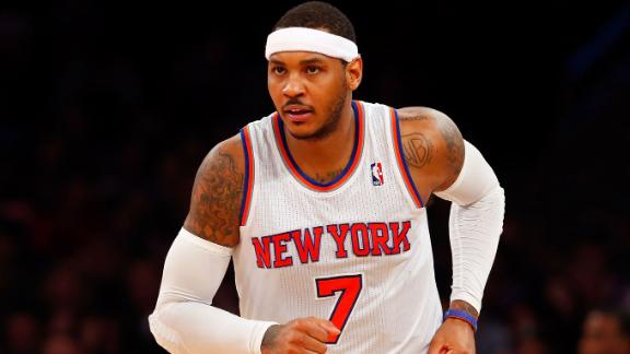 Knicks Confident, Waiting On Melo