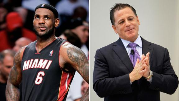Gilbert Letter An Issue For LeBron