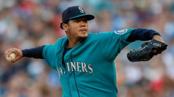 Video - King Felix Outduels Samardzija